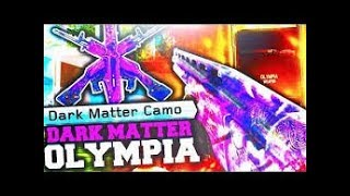 I GOT THE OLYMPIA! Getting dark matter on the Olympia! Call of Duty Black Ops 3 Multiplayer