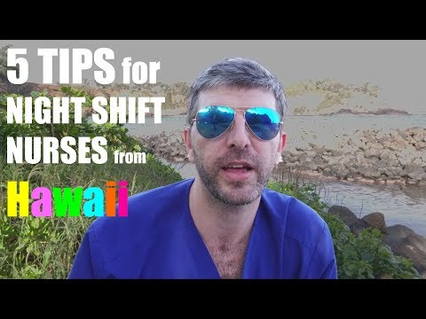5 NIGHT SHIFT TIPS For NURSES