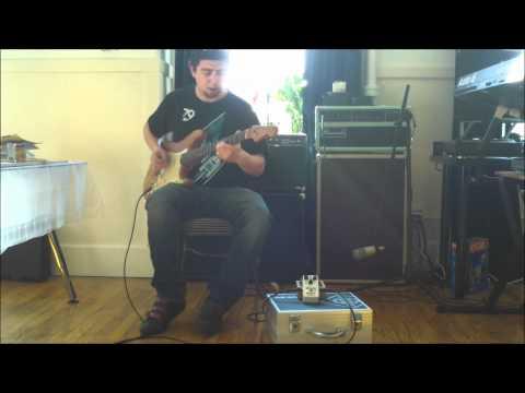 Rene  Del Fierro - Freekish Blues Alpha Drive II Red Dot - Dumble Amp Tones Video 1