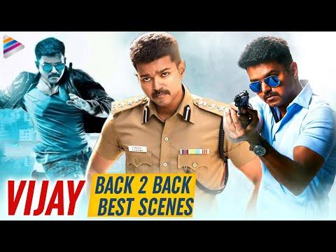 Vijay Back To Back Best Scenes | Policeodu Telugu Movie | Thalapathy Vijay | Samantha | Amy Jackson