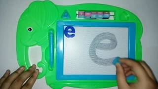 abc | English Small Letter | English Small Alphabet Learning | How to Write on Magnetic Board