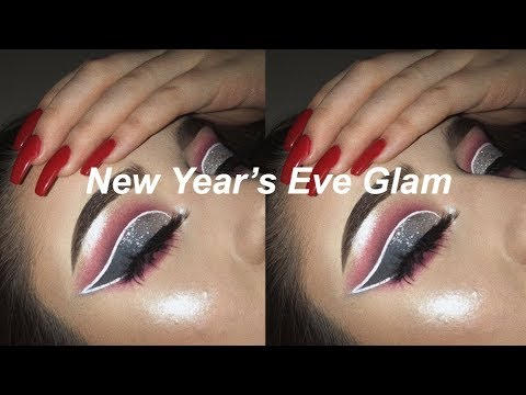 New Years Eve Glam Makeup Look