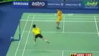 Lin Dan Vs Lee Chong Wei - Badminton 2010 Thomas cup