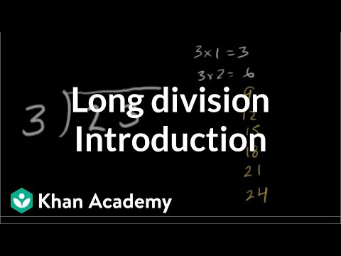 Intro to long division (remainders) (video) | Khan Academy