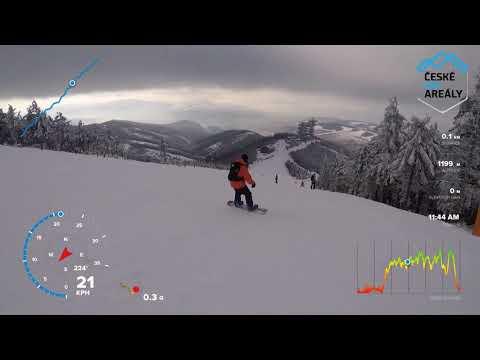(cz) Ski Dolní Morava červená 4 2018