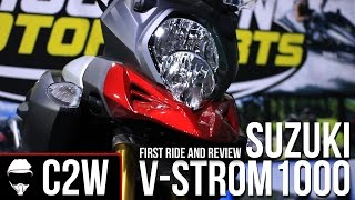 7. 2015 Suzuki V-Strom 1000 - First Ride and Review