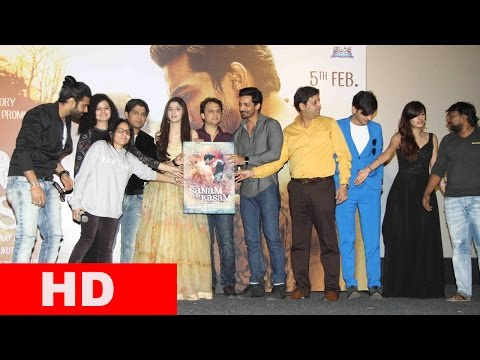 Music Celebration Of Film Sanam Teri Kasam With Harshvardhan Rane & Mawra Hocane,