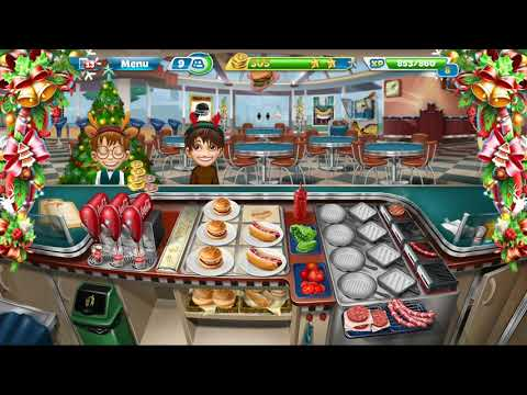 Cooking Fever || Fast Food Court || Level #15 || Games For Kids || 3 ⭐⭐⭐