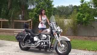 7. Used 2007 Harley Davidson Heritage Softail Classic Motorcycles for sale - Zephyrhills, FL