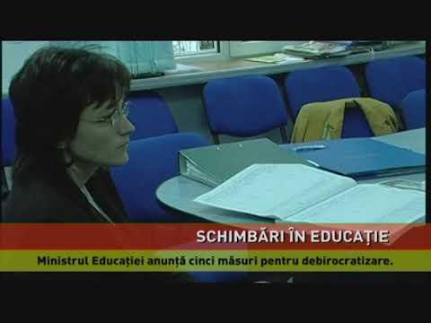 Ministrul Educației anunță cinci măsuri pentru debirocratizare