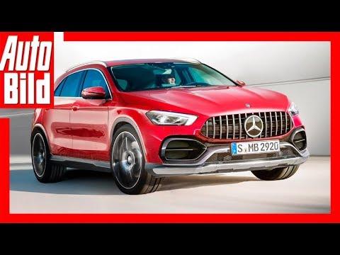 Mercedes-Benz GLA - Zukunftsaussicht des Kompakt-SUV  ...