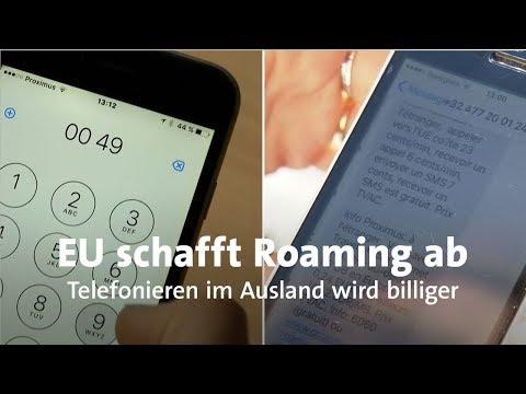 Billiger telefonieren: Roamingkosten im Ausland fallen  ...