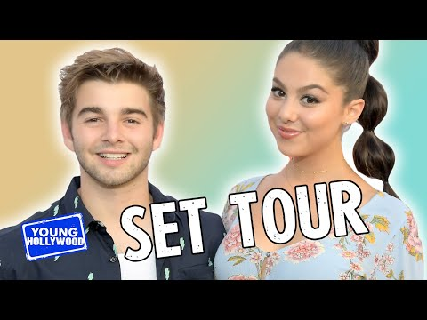 """Set Tour of Nickelodeon's """"The Thundermans"""" with the Cast!"""