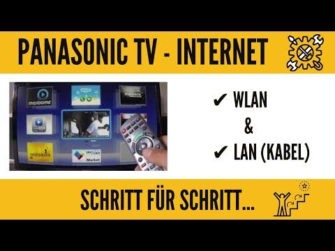 Panasonic TV Internet Einrichtung! Wlan fähig machen. GANZ EINFACH!