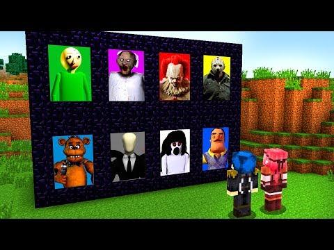 Minecraft ITA - ENTRIAMO NEI PORTALI DEI SUPER CATTIVI!!