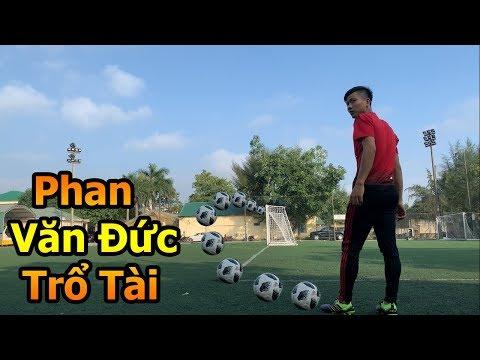 Thử Thách Bóng Đá với Phan Văn Đức U23 Việt Nam sút xoáy má ngoài như Roberto Carlos sau Asian Cup - Thời lượng: 4 phút, 36 giây.