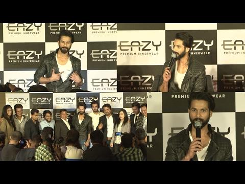 Shahid Kapoor Launches Easy Premium Innerwear Brand