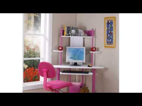 Video YouTube video ad on the Kings Brand Pink Finish Corner Workstation
