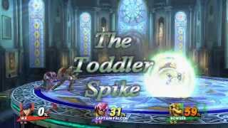 2 year Old Spikes Smash Player