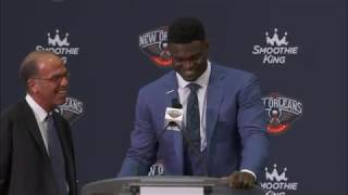 New Orleans Pelicans Introduce #1 Overall Pick Zion Williamson by NBA