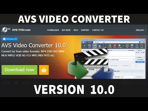AVS Video Converter 10.0 - Windows 10