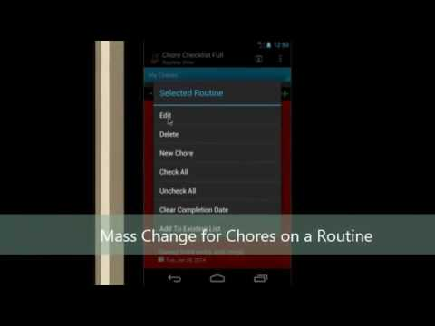 Video of Chore Checklist - Lite
