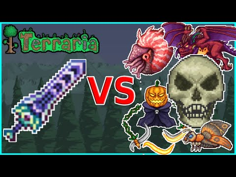 Terraria 1.4 - Zenith vs ALL Events and Dungeon Guardian (Master Mode)