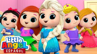 Video *Mejores Canciones de Princesas* 👸 | Canciones Infantiles | Little Angel Español MP3, 3GP, MP4, WEBM, AVI, FLV September 2019