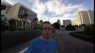 Vidéo d'un irlandais en vacances à Las Vegas qui utilise sa Go Pro à l'envers