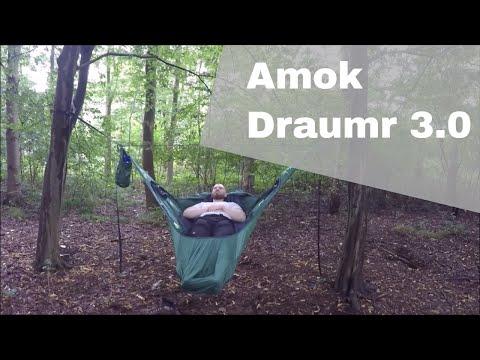 Amok Equipment Draumr 3.0 Hängematte erster Test, erste Enttäuschung