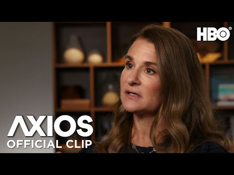 AXIOS on HBO: Melinda Gates on COVID-19's Global Impact (Clip)   HBO