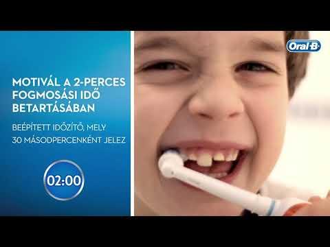 Oral-B PRO 2 gyerek elektromos fogkefe Sensi fejjel, Star Wars