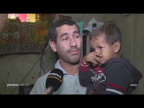 Klaus Weber berichtet aus Sidon im Libanon zur Situation der Flüchtlinge am 22.06.18