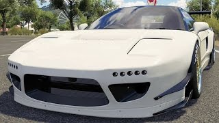 Honda NSX-R 1992 (Rocket Bunny BodyKit) - Forza Horizon 3 - Test Drive Free Roam Gameplay