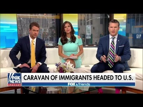 Fox News Suddenly Forgets About The Migrant Caravan