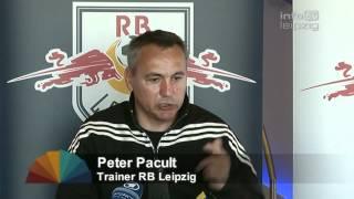 Peter Pacult als genervter Leipzig-Coach