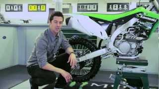 4. The new Kawasaki KX450F - Styling