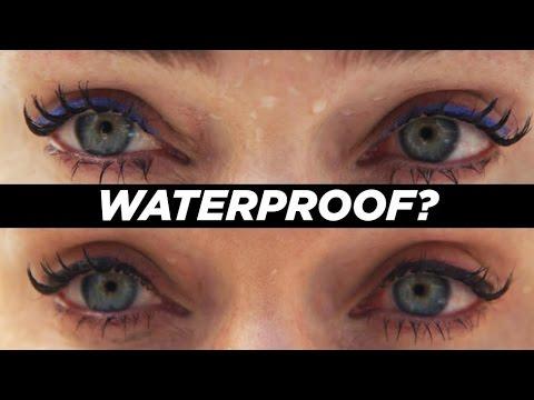 Olympic Swimmer Tests Waterproof Makeup
