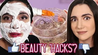 "Video Trying Clickbait Beauty ""Hacks"" From Facebook MP3, 3GP, MP4, WEBM, AVI, FLV Juli 2019"