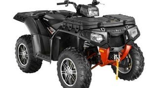 1. 2013 Polaris Sportsman XP 850 H.O. EPS Stealth Black LE at Tommy's MotorSports
