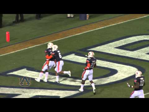 play - Watch as Chris Davis returns a missed field goal the length of the field at Jordan-Hare Stadium in the final play of #Auburn's 34-28 win against Alabama on N...