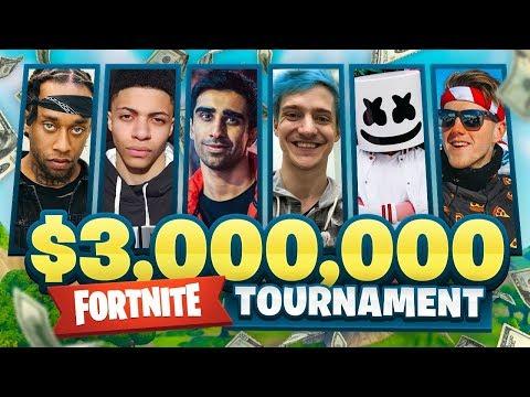 $3,000,000 FORTNITE Pro Am ft. Vikkstar, Marshmello, Lachlan, Ninja, Ali-A & More!