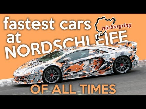 10 Fastest Cars At Nürburgring Of All Times
