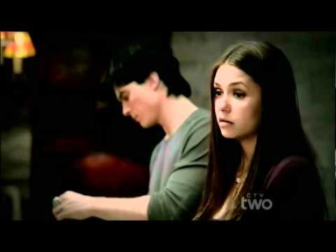 3x09 Damon & Elena Bathroom scene - Vampire Diaries Homecoming