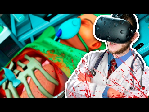 ХИРУРГ ОТ БОГА! | Часть 1 | Surgeon Simulator (HTC Vive)