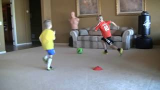 Video Brendan Parry, 6-7 years old,  developing football/soccer skills and creativity MP3, 3GP, MP4, WEBM, AVI, FLV Februari 2019