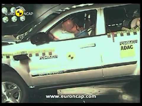 Jeep Grand Cherokee Краш-тест - Jeep Grand Cherokee 2005 (E-NCAP ADAC)