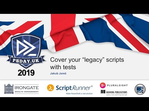 Cover your legacy scripts with tests