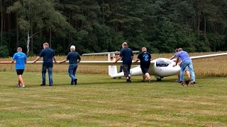 Celle Germany  city photos gallery : REAL FLIGHT 15 METERS GLIDER