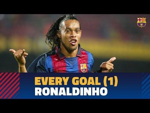 GOALS COMPILATION PART 1   Ronaldinho (2003-2005) (видео)